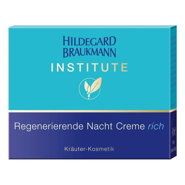 Hildegard Braukmann Institute Regenerierende Nacht Creme rich Karton