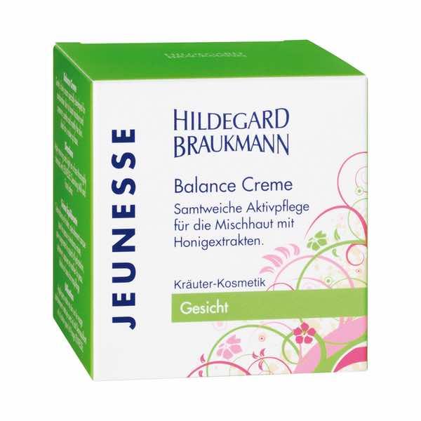 Hildegard Braukmann Jeunesse Balance Creme Karton