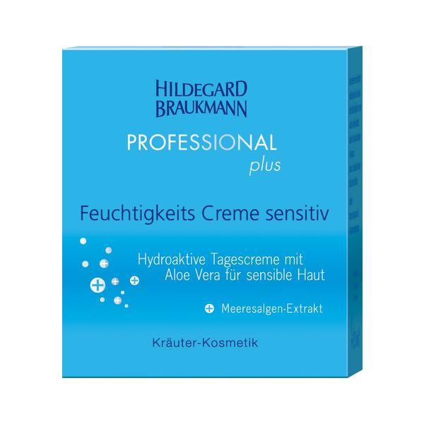 Hildegard Braukmann Professional plus Feuchtigkeits Creme sensitiv Karton