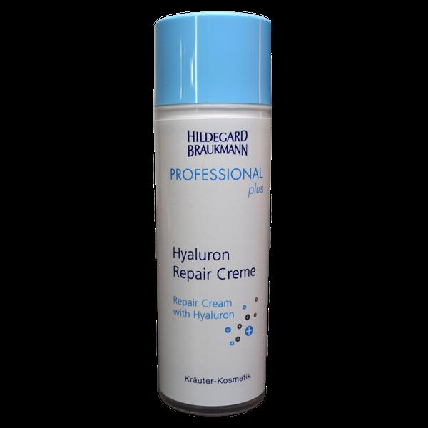 Hildegard Braukmann Professional plus Hyaluron Repair Creme Flasche Front