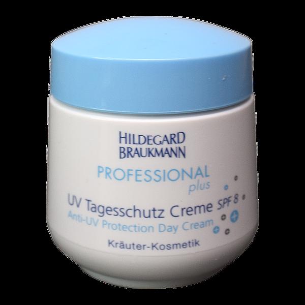 Hildegard Braukmann Professional plus UV Tagesschutz Creme SPF 8 Topf Front