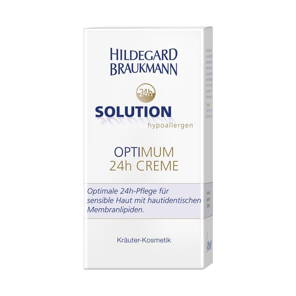 Hildegard Braukmann 24h Solution optimum 24h Creme Karton