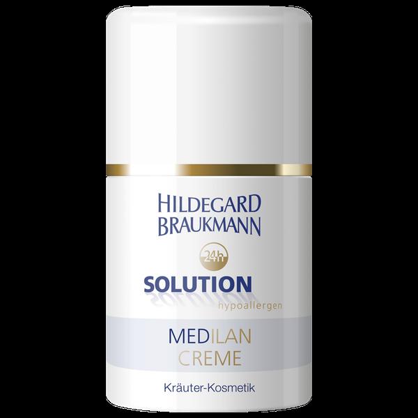 Hildegard Braukmann Solution Medilan Creme Dose Front
