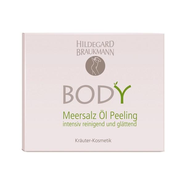 Hildegard Braukmann Body Meersalz Oel Peeling Karton