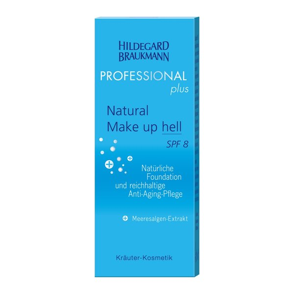 Hildegard Braukmann Professional plus Natural Make up hell SPF8 Karton