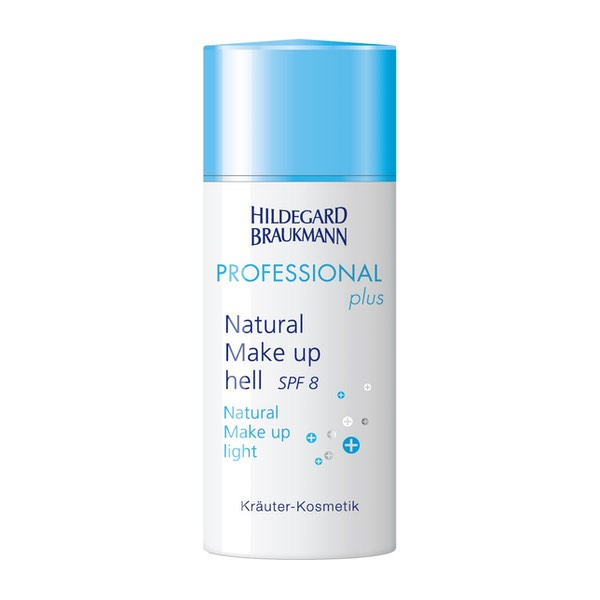 Hildegard Braukmann Professional plus Natural Make up hell SPF8