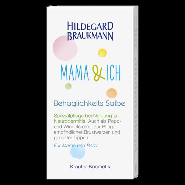 Hildegard Braukmann Mama und Ich Behaglichkeits Salbe Karton