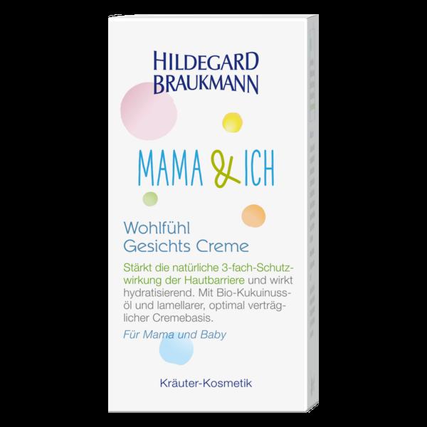 Hildegard Braukmann Mama und Ich Wohlfuehl Gesichts Creme Karton
