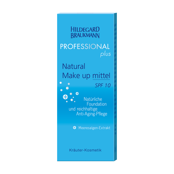 Hildegard Braukmann Professional Plus Natural Make up mittel Karton