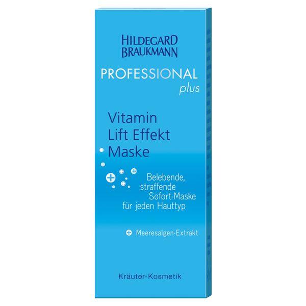 Hildegard Braukmann Professional plus Vitamin Lift Effekt Maske Karton