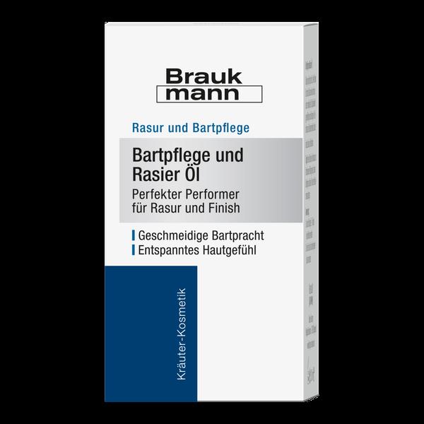 Hildegard Braukmann Braukmann Bartpflege und Rasier Öl Karton